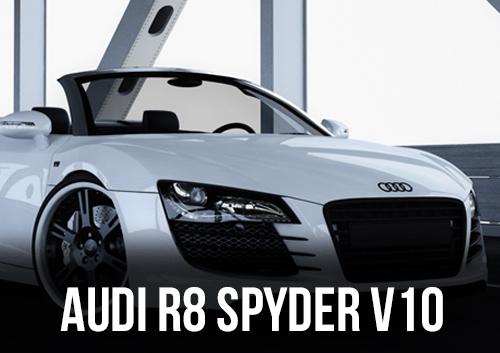 AUDI R8 SPYDER V10 DISPONIBLE EN LOCATION CHEZ GT'Luxury