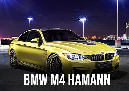 BMW M4 HAMANN DISPONIBLE EN LOCATION CHEZ GT'Luxury