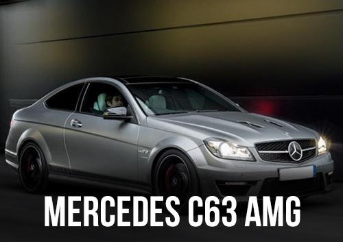 MERCEDES C63 AMG DISPONIBLE EN LOCATION CHEZ GT'Luxury