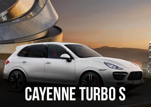 PORSCHE CAYENNE TURBO S DISPONIBLE EN LOCATION CHEZ GT'Luxury