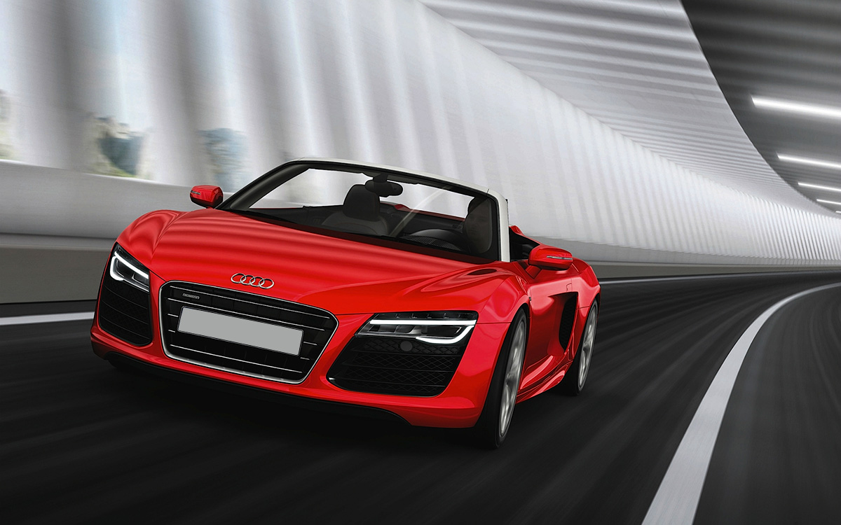 location audi r8 spyder v10 gt 39 luxury. Black Bedroom Furniture Sets. Home Design Ideas