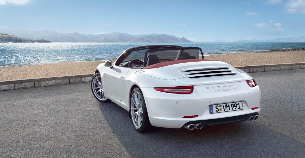 Porsche 911s cabriolet